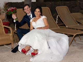 O casamento de Alessandro e Sinésia 1