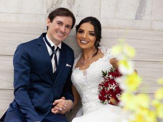O casamento de Alessandro e Sinésia