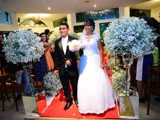 O casamento de Alyne  e Iago