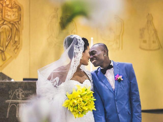 O casamento de Luciana e Deni