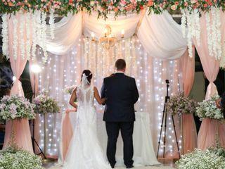 O casamento de Daniele e Andreas