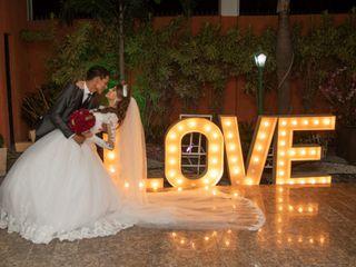 O casamento de Evelin e Victor
