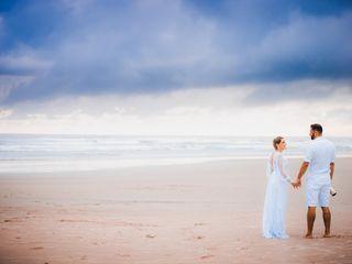 O casamento de Glória e Fábio