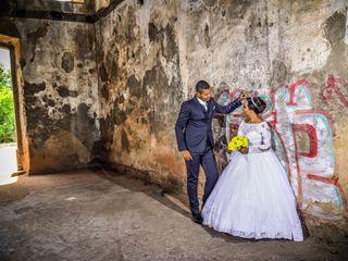 O casamento de Priscila  e Samaroni