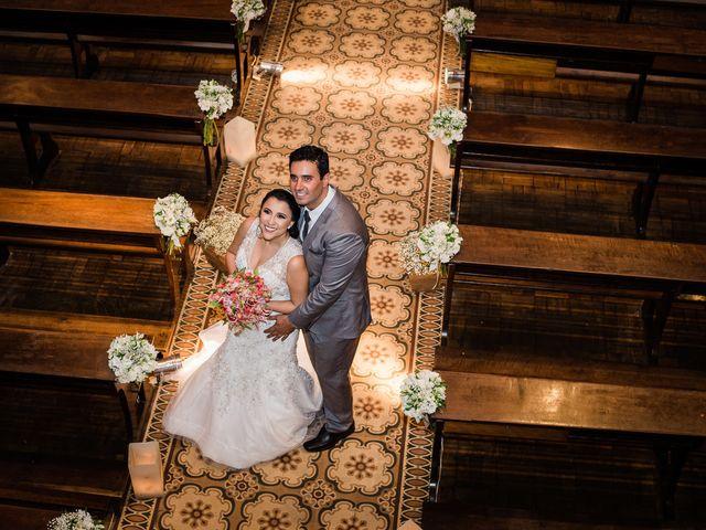 O casamento de Karla e Evandro