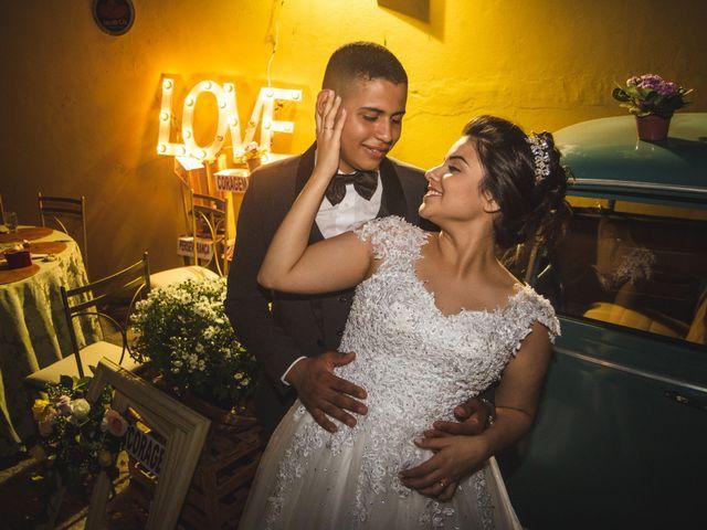 O casamento de Bianca e Natã