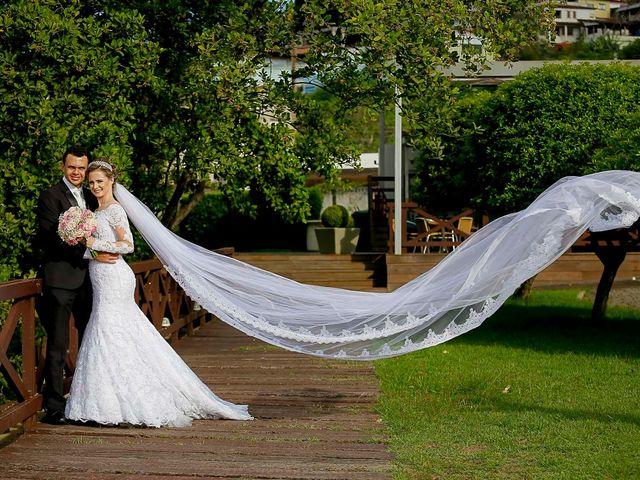 O casamento de Ellen e Marcelo