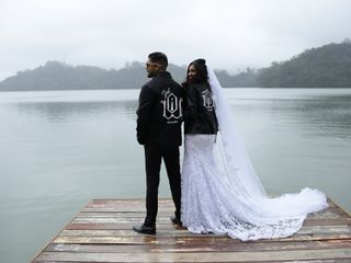 O casamento de Daniele e Wendell