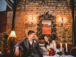 O casamento de Filipe e Daniella