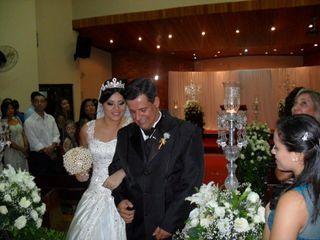 O casamento de Adriele e Leandro
