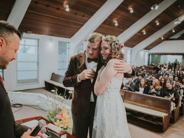 O casamento de Sally e Claudio