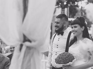 O casamento de Valéria  e Fabio