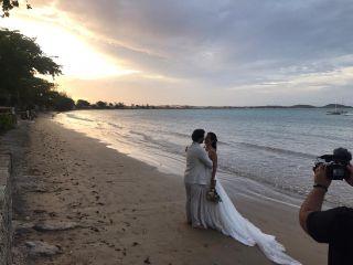 O casamento de Priscila e Miguel