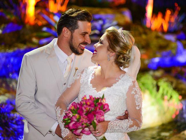 O casamento de Francilene e André