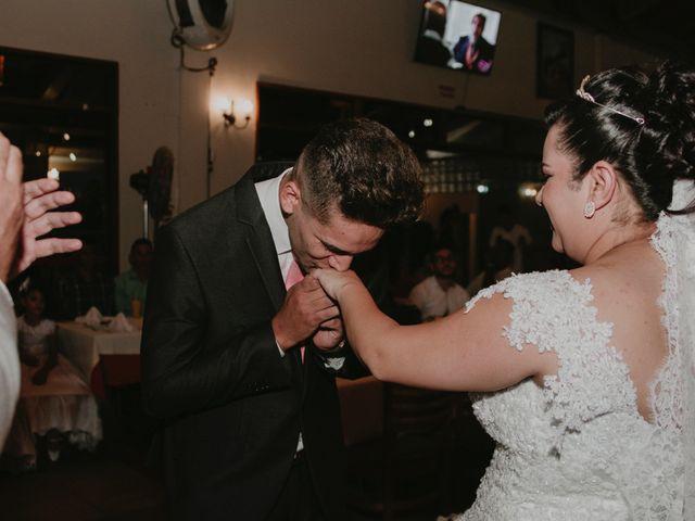 O casamento de Jaqueline e André