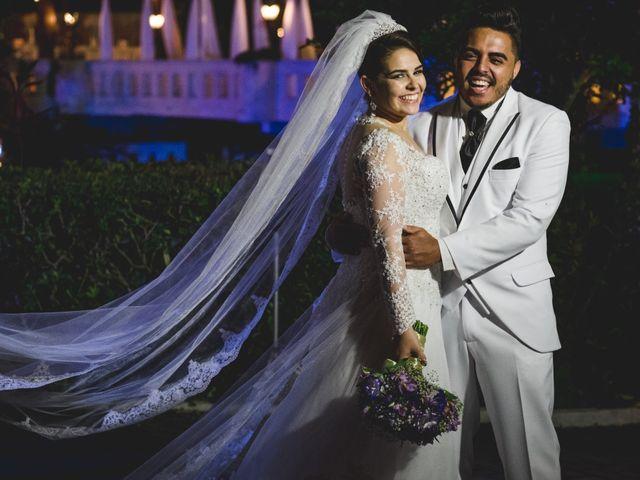 O casamento de Gicleia e Allan