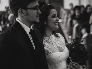 O casamento de Larissa e Gabriel