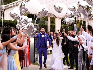 O casamento de Bruna e Raone