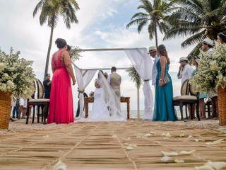 O casamento de Taciana e Thiago