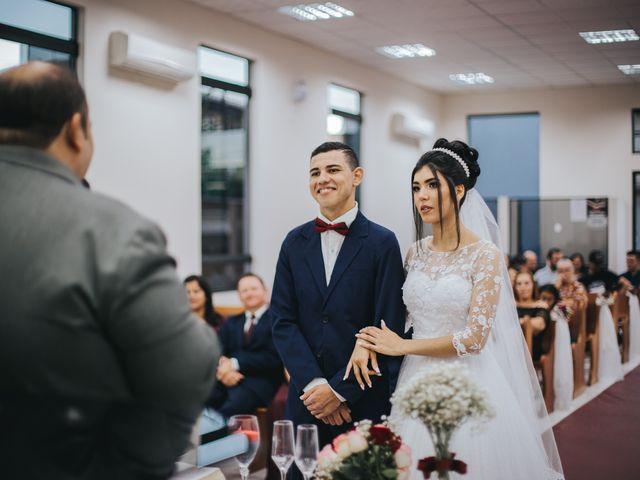 O casamento de Oseas e Cassiane em Joinville, Santa Catarina 43
