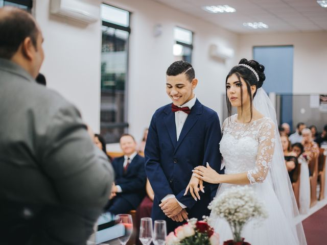 O casamento de Oseas e Cassiane em Joinville, Santa Catarina 44