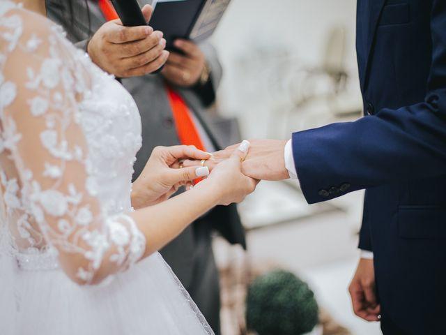 O casamento de Oseas e Cassiane em Joinville, Santa Catarina 48