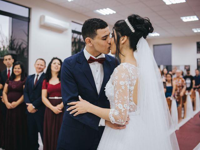 O casamento de Oseas e Cassiane em Joinville, Santa Catarina 51