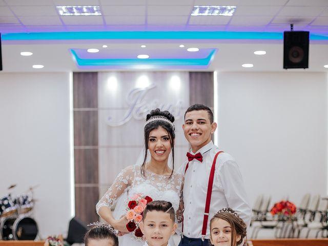O casamento de Oseas e Cassiane em Joinville, Santa Catarina 82