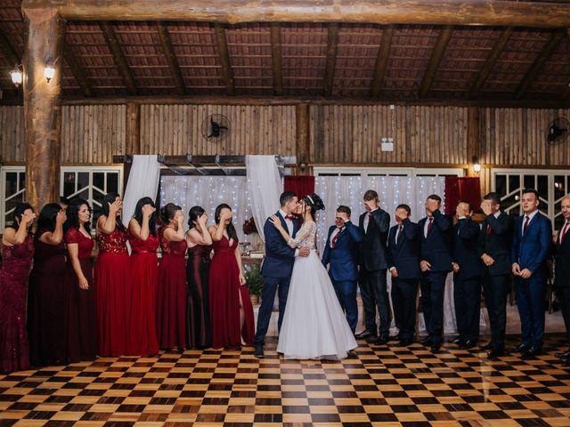 O casamento de Oseas e Cassiane em Joinville, Santa Catarina 2