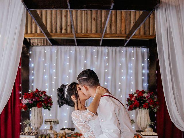 O casamento de Oseas e Cassiane em Joinville, Santa Catarina 105