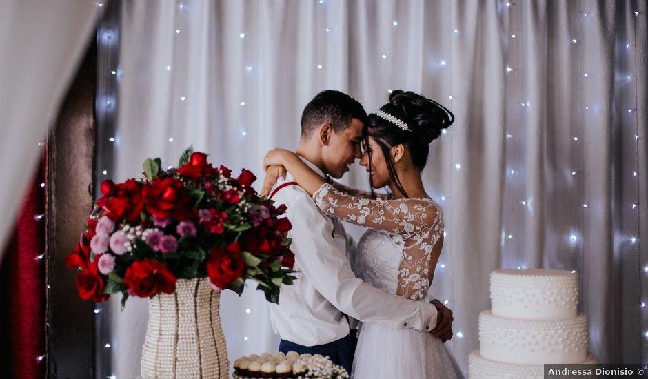 O casamento de Oseas e Cassiane em Joinville, Santa Catarina