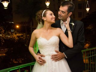O casamento de Catherine e Michele