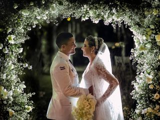 O casamento de Fernanda e Saad