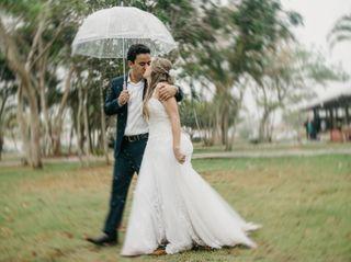 O casamento de Jociellen e Mohand