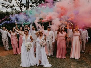 O casamento de Cleide e Cristina