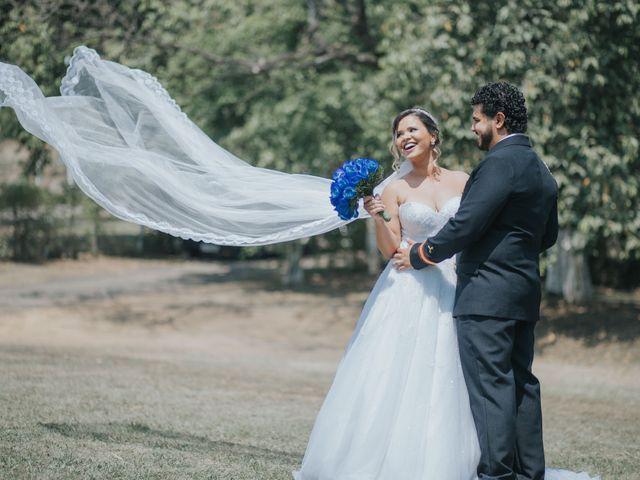 O casamento de Débora e Pierre
