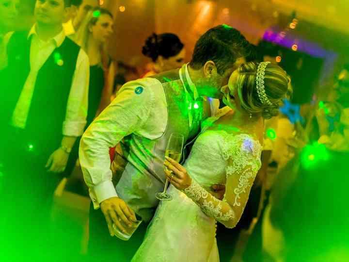 O casamento de Aline e Antônio