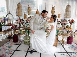 O casamento de Brunela e Luigi