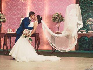 O casamento de Delis e Lucas