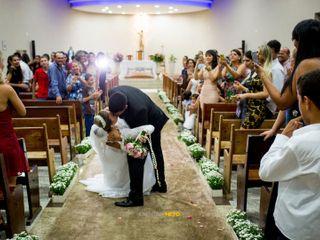 O casamento de Wanessa e Pedro