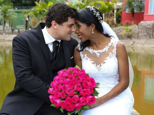 O casamento de Simone e Douglas