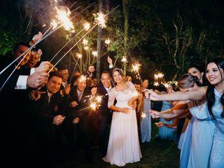 O casamento de Caroline e Fernando