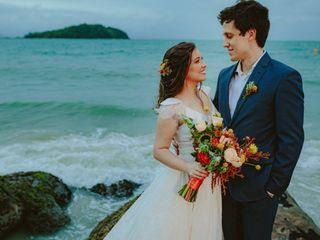 O casamento de Nat e Luiz