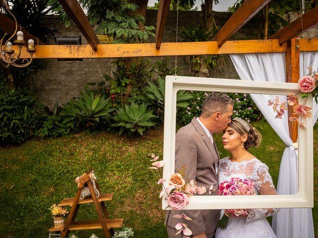 O casamento de Alessandro e Danila
