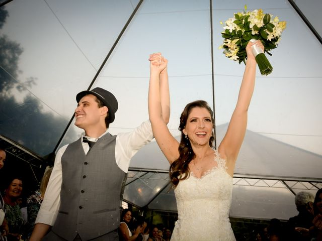 O casamento de Daniela e Glauber