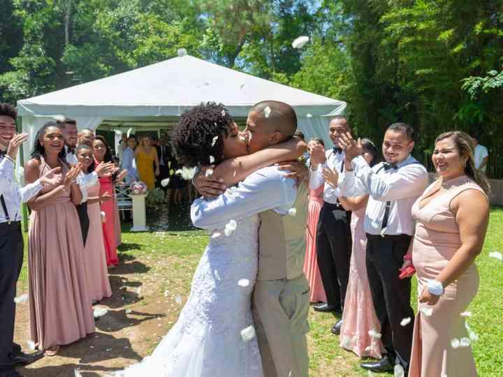 O casamento de Katharine e Bruno