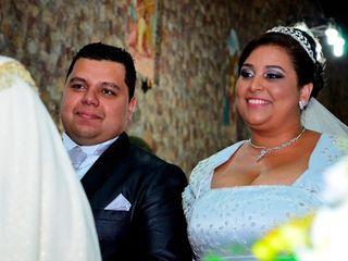 O casamento de Tamires e André 1