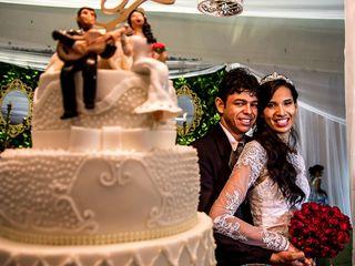 O casamento de Deissynara e Fernandes