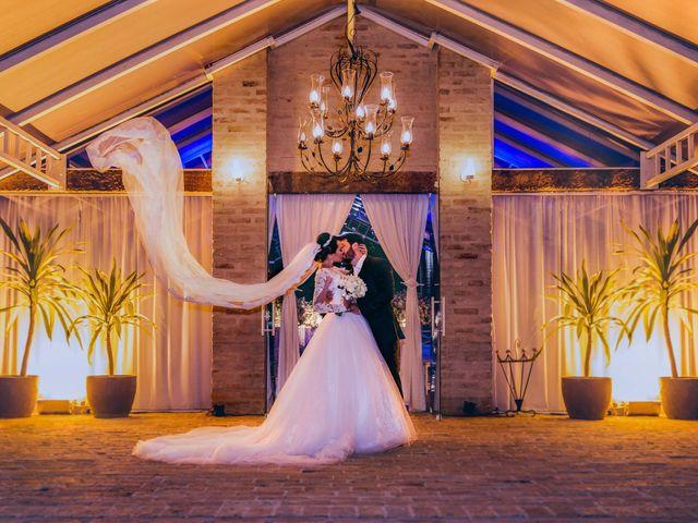 O casamento de Paula e Marcelo