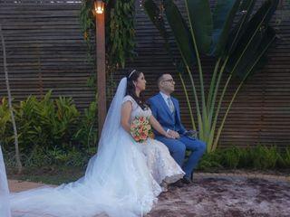O casamento de Isabela e Andrew
